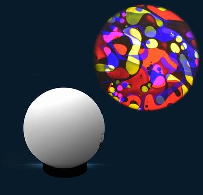 Aura lavalamp projector Multi Kleuren