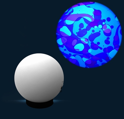 Aura Lava projector Blauw/Violet