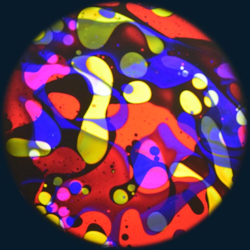 Aura Lava projector Multi Kleuren