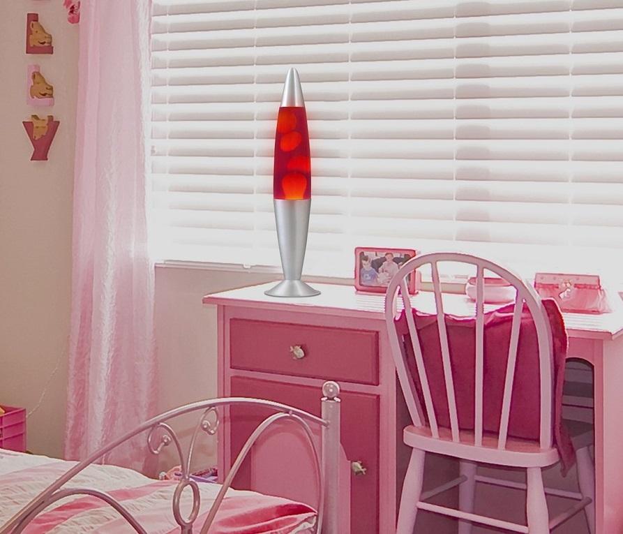 Lavalamp Violet Oranje