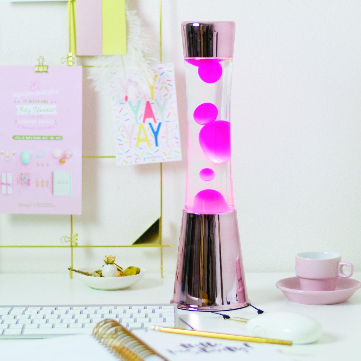 Fisura lavalamp Roze