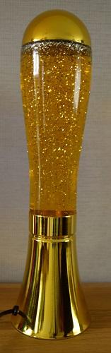 Glitterlamp Goud
