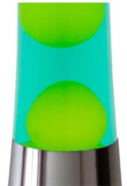 Fisura lavalamp Geel/Groen