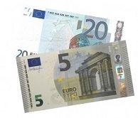 tot €25,00